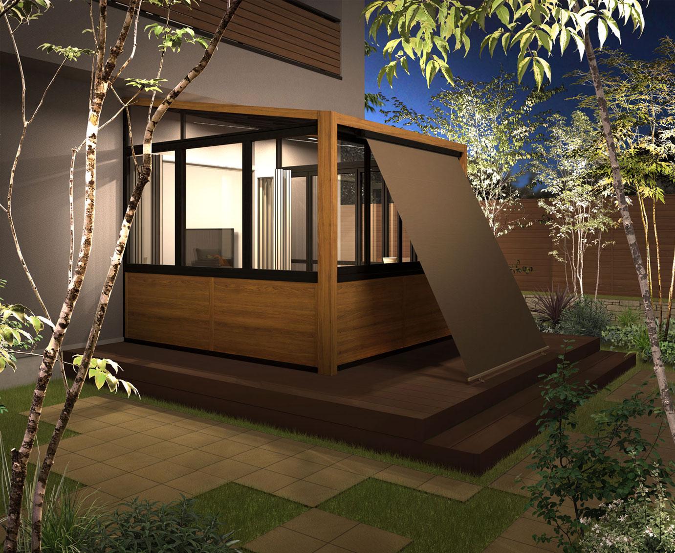 ガーデンルームGF
